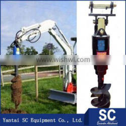 Clay Auger /Earth Auger Used By Excavator SUMITOMO S160 For Post Hole Digging
