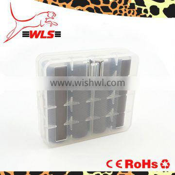 plastic case batteries to protect 18650 battery 3.7v protected battery and 18650*4 battery case