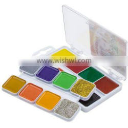 Watercolor, watercolour, water color, 16 colors with glitter with/without brush