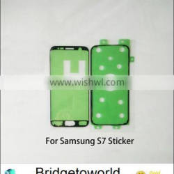 Front Housing Frame Adhesive Sticker for Samsung Galaxy S7 For Galaxy G930 Rear Housing Bezel Tape