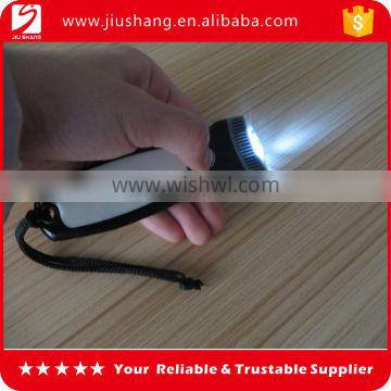 2016 new design light keychain key holder with led for promotions