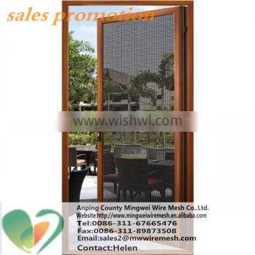 Stainless steel security insect screen/ 2016 best price Bullet Proof mosquito net