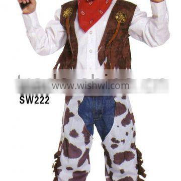 the hot sale cow christmas costumes for adults and kids