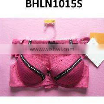 Ladies lace bra and panty underwear set women lace sexy boob lingerie