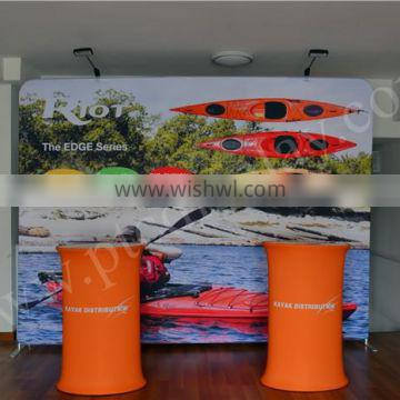 Straight art exhibition display stands