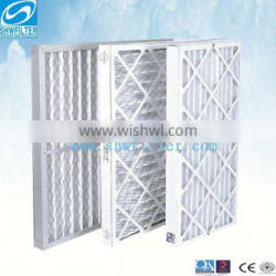 synthetic fiber panel filter