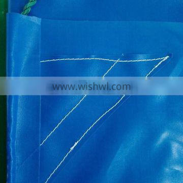 100% Polyester Material corners with reinforced patch pvc tarpaulin