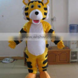 Lovely tiger mascot costume,used mascot costumes for sale