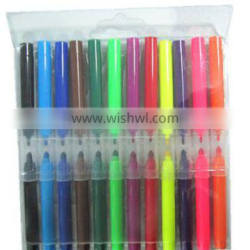 two side water color marker double side water color pen