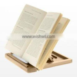 Table Easel & Book Stand wholesale 2015 new arrival adjustable bamboo book holder folding laptop stand