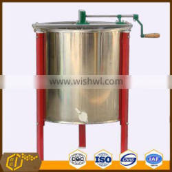 Factory sale 6 Frame Stainless Steel Manual Honey Extractor