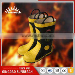Chinese Style Pipe Material Fire Fighting Boots