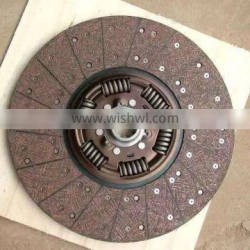 Hot sell Auto clutch Disc for HOWO with six spring