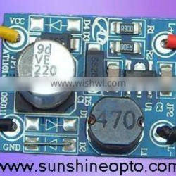 LED constant current driver module for LED lamp