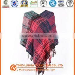cheap woven 100% acrylic winter knitted cashmere scarf