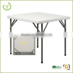 Outdoor Folding camping table 34' suqare folding table HDPE table top