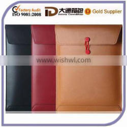 """Waterproof Soft Leather 13"""" Inch Laptop Sleeve Bag Case"""