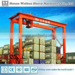 """RTG Rubber Tyre Gantry Crane for 20"""" 40"""" 45"""" Container"""