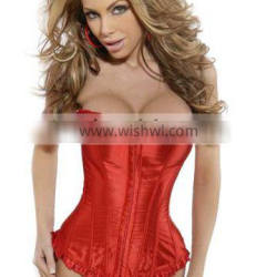 New Arrival Hot Sale Red Corset Waist Slimming Girdles And Body Shapers Corset Waist Trainers