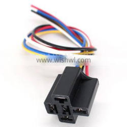 Amp Tyco 5 Pin Automotive 40 A Relay Connector Wire Harness 3334 485007