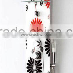 Patterned shower panel(WMD-SRGS-23)