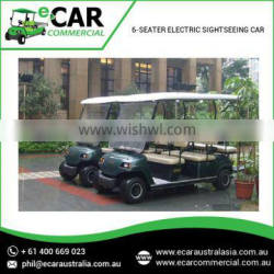 Most Reputed Manufacturers of premium Grade Electric 6 Seater Sightseeing Vehicles