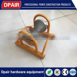 corner cable roller for cave head