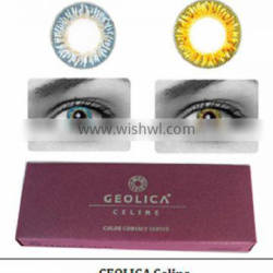 Newly GEOLICA Celine cosmetic contact lens made in korea by GEO Medical