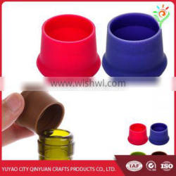 China wholesale silicone bottle stopper, silicone rubber wine bottle stopper