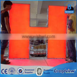 Frontlit High Bright Epoxy Resin Outside Sign Letter