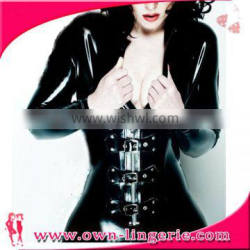 buckle up leather jumpsuit wet look Sexy Catsuit Faux Leather Zipper Wet Look Jumpsuit Adult Club Wear Catwoman