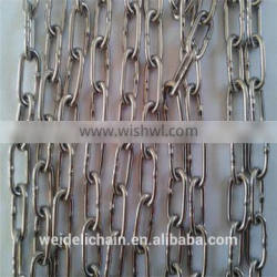 7/16 inch stainless steel welded link chain