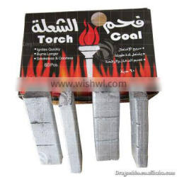 2014 the best quality of torch coal, 2 hours burning and 8000cal heat value