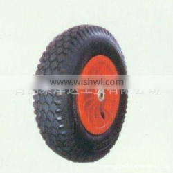 durable specification standard inflatable high quality rubber wear-resisting pneumatic wheel ypr009
