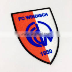 Custom High Quality iron on flocking patch for clothing