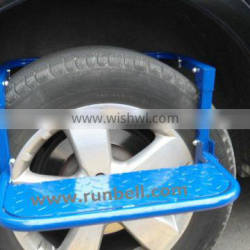 Folding Steel Tyre Step for SUV