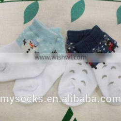 hot new products christmas baby boy socks