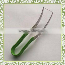 Hot Sale Factory Supply PVC Handle Stainless Steel Watermelon Slicer
