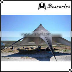 High quality black outdoor event advertising tents, single star shade tents for sale