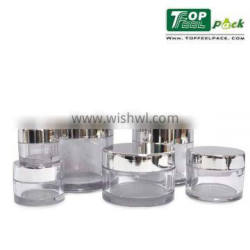 High Quality Empty Plastic PETG Cosmetic Jar for Skin Care Cream Use 5g 15g 30g 50g 80g 100g