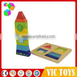 Hot Sale a variety of different colors quality happy kid toy/wood kid toy Made in China