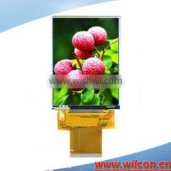 3.0inch 240*400 ILI9327 outdoor lcd touch display with resistive touch