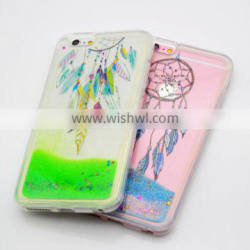 2016 Alibaba TPU Phone Cases for Nokia N950 Liquid Quicksand Mobile Covers