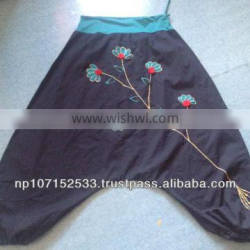 SHSTR58 cotton trouser with embroidery price 580rs $6.82
