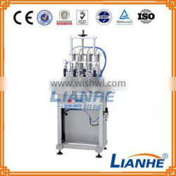 4 heads perfume filling machine/ perfume production line with negative pressure