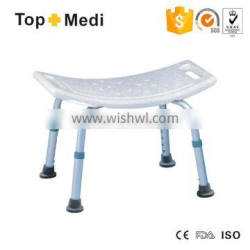 Lightweight Adjustable Safety Shower Chair Bath Bench without Backrest for Sale