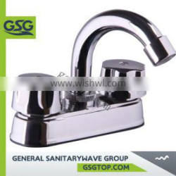 """Tap GSG PF141 popular basin faucet bathroom&kitchen chrome sink faucet Watermark Wels approved 4"""" ABS faucet"""
