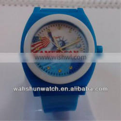 unisex hours plastic American promotional watches