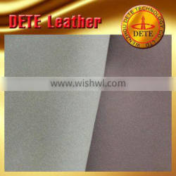 PU yanbuckpu synthetic leather for shoes