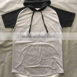 2017 oem mens black and grey two colour design hoodies